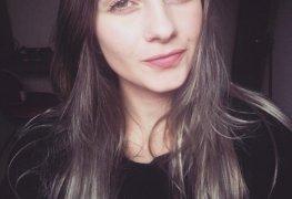 Aline Brum nua em fotos amadoras