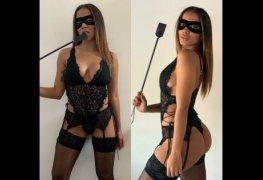 Anitta rebolando de tiazinha mostrando a bunda gostosa