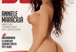 Anniele maracajá pelada revista sexy maio 2019