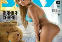Bianka Cabral revista sexy janeiro 2017