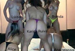 Brenda Paes e suas amiguinhas gostosas