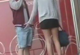 Caiu na net video de sexo atras da escola