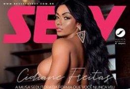 Cidiane Freitas na revista sexy de junho de 2019