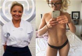 Claire Hutchings do Master Chef Reino Unido caiu na net
