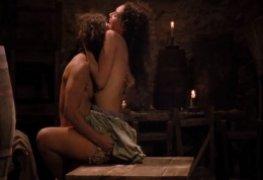 Débora Nascimento nua cena sexo no filme O Inventor de Sonhos