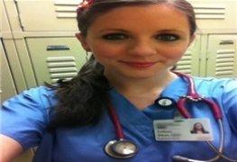 Enfermeira novinha caiu na net depois do termino do namoro