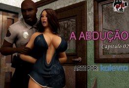 Estupro quadrinhos eróticos: The Abduction 02