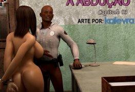 Estupro quadrinhos porno: The Abduction 03