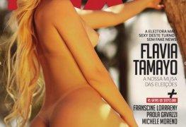 Flavia tamayo revista sexy outubro 2018