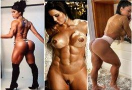 Gracyanne Barbosa exibindo seu corpo escultural e sua bunda gostosa
