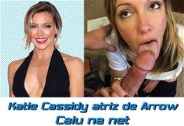 Katie Cassidy atriz gostosa da série Arrow caiu na net