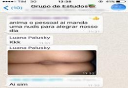 Luana e Kaliane duas gostosas do instagram em nudes vazado na net