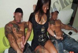 Morena gostosa e suas experiências sexuais