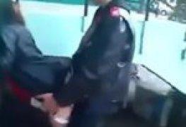 Motoboy comeu a passageira na rua