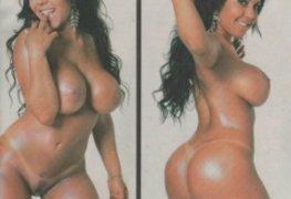 Mulher Melão pelada - revista gata da hora