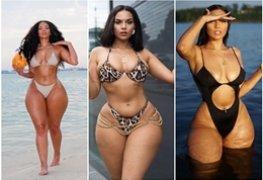 Musas do instagram : Amirah Dyme eleita a mulher mais gostosa do mundo