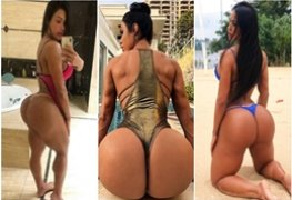 Musas do instagram: Gracyanne Barbosa musa fitness totalmente nua
