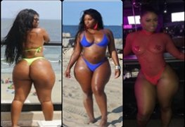 Musas do Instagram : Millie Mucho Modelo e stripper super rabuda