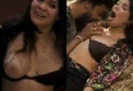 Nathália Limaverde mostrando os seios em filme