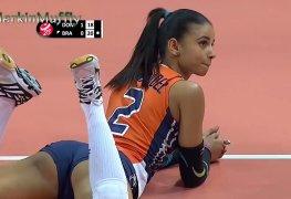 Os melhores momentos de uma partida de voleibol
