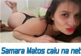 Samara Matos perdeu o celular e cai na net