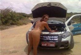 Taxista safada do Recife caiu na net