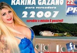 Vídeo polêmico da vereadora Karina Gazano